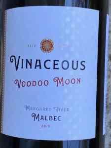 Vinaceous Wines Voodoo Moon Malbec 2019