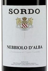 Sordo Nebbiolo d'Alba Piedmont, Italy 2016