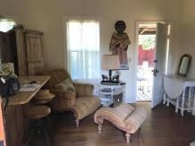 The living room at Desolina
