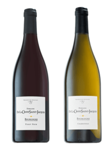 Pinot Noir and Chardonnay