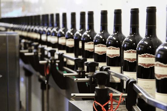 Gamba bottling line