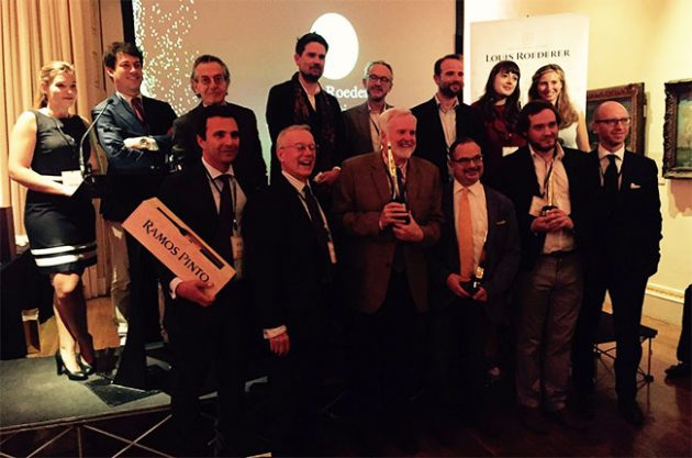 Winners revealed at Louis Roederer International Wine Writers' Awards 2017