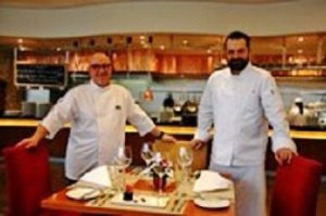 xecutive Chef Jean-Paul Georges Manzac with Pastry Chef Vladimir Krofta