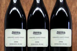Dujac wines, Burgundy