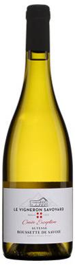Cave de Chautagne, Vin de Savoie Chautagne, Cuvée Excéption,
