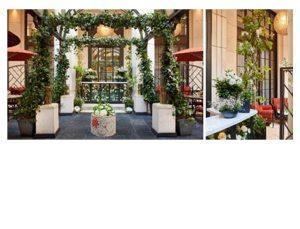 Corinthia Hotel London unveils Garden Lounge transformation in celebration of London Craft Week