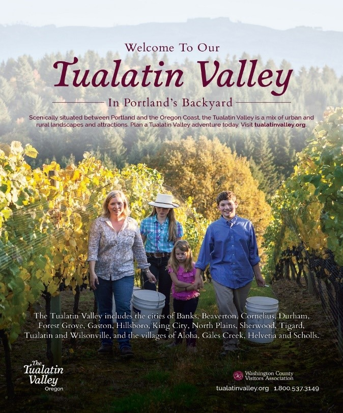 Oregon wines in Tualatin Valley: Prepare for the WOW