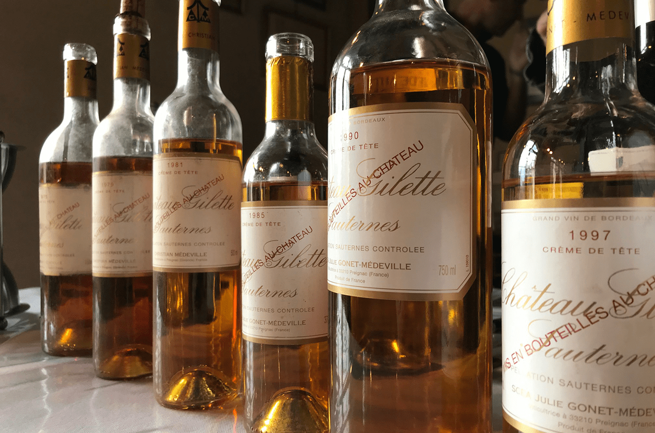 Château Gilette: Meet the Sauternes aged 20 years before bottling
