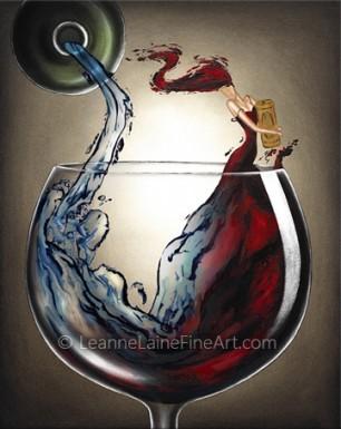 Wine Enthusiasts Celebrate