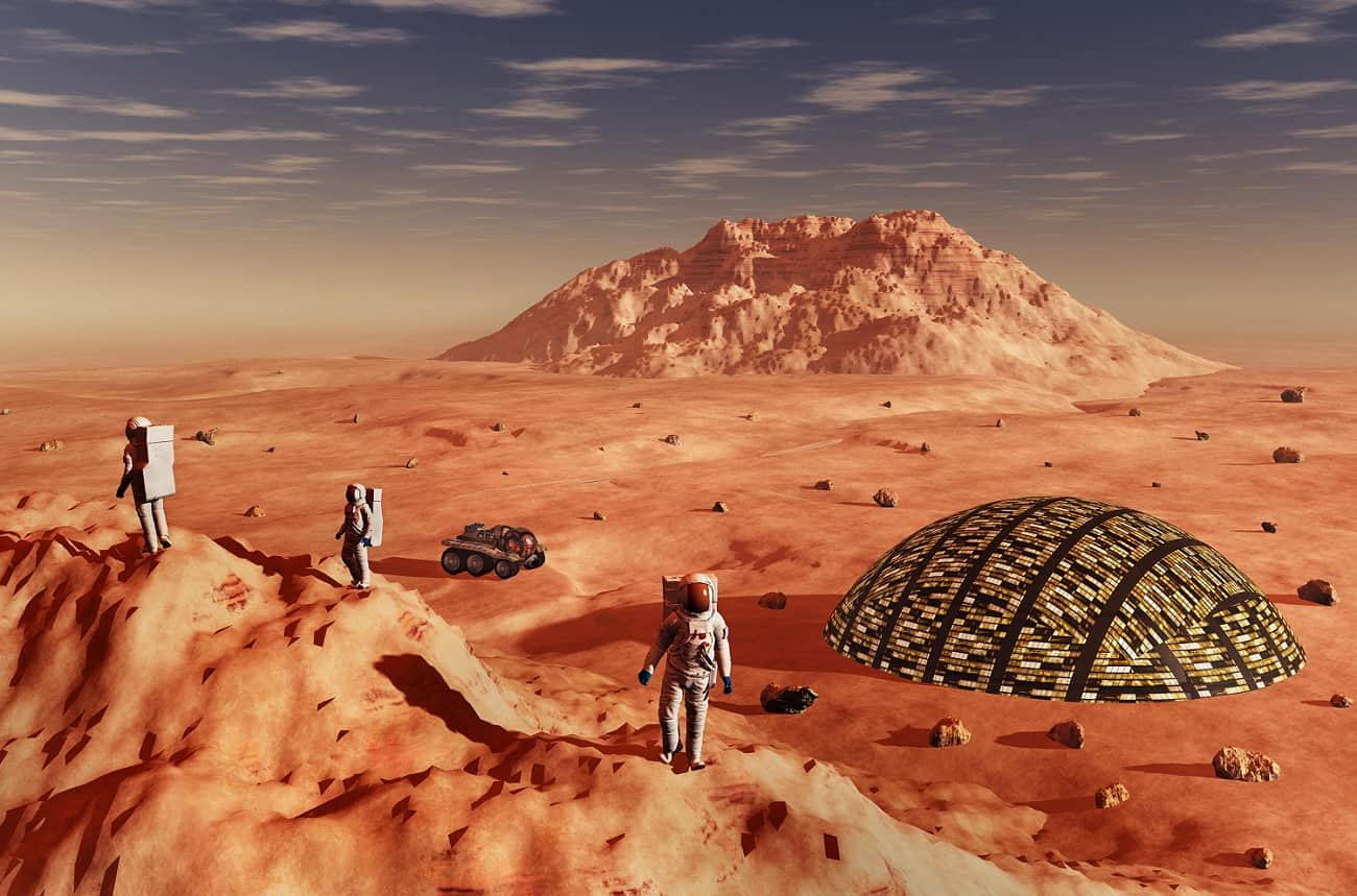 Could red wine help power a mission to Mars?