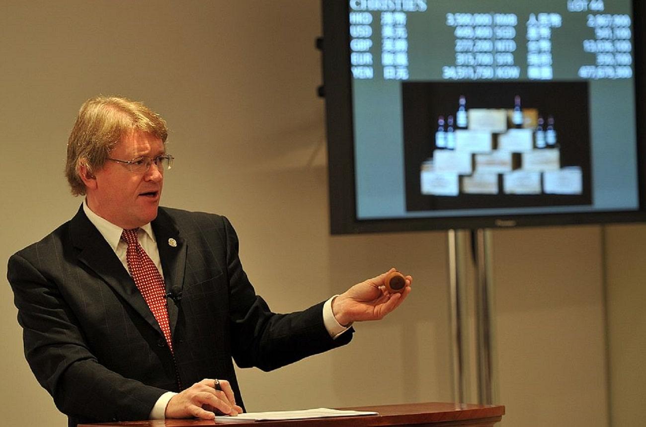 Fine wine auction pioneer David Elswood dies