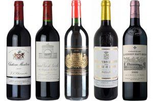 Bordeaux 2000 wines