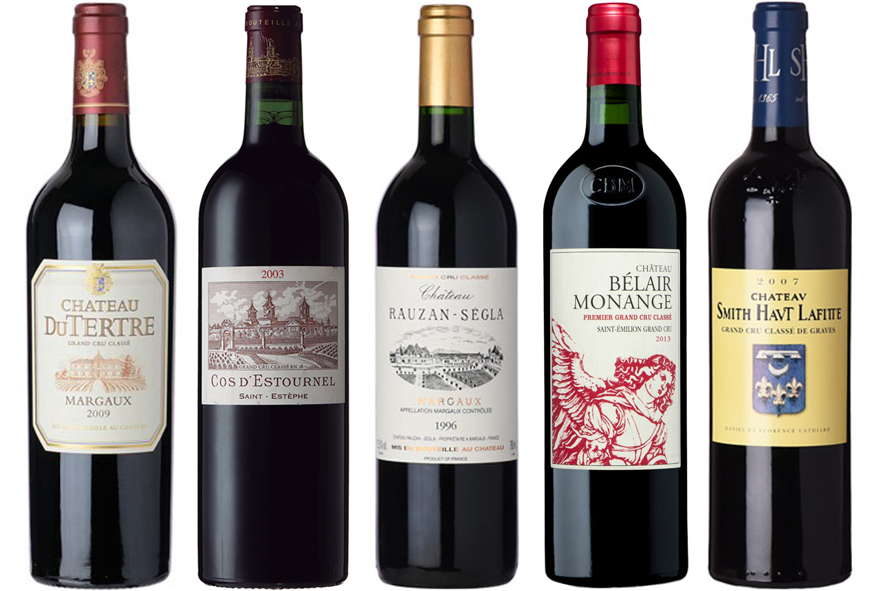 Anson: Top five Bordeaux vintages ready to drink now