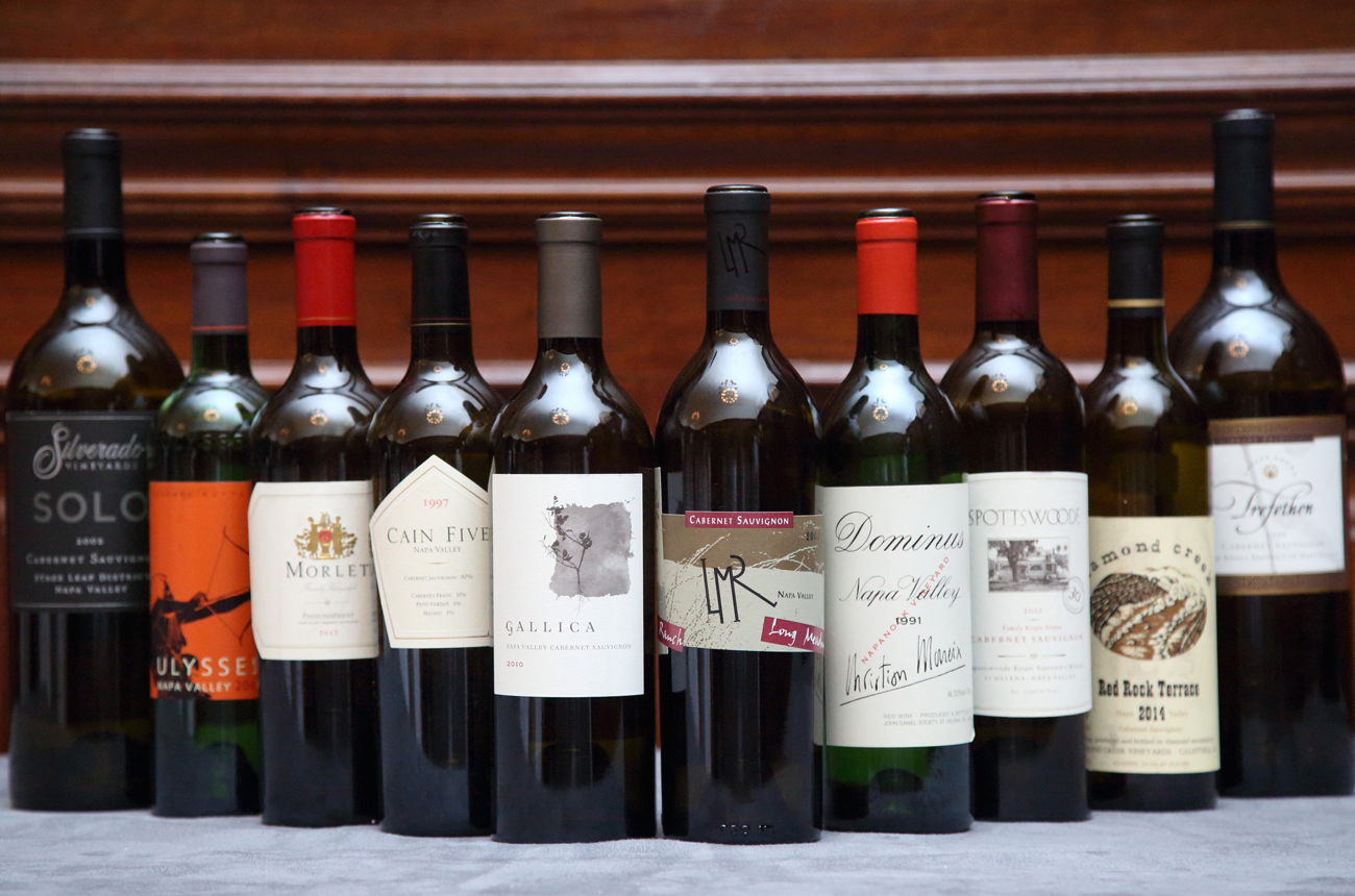 Anson: A masterclass in Napa Valley Cabernets