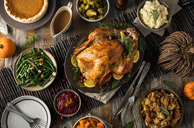Thanksgiving: US wineries share their top wine tips
