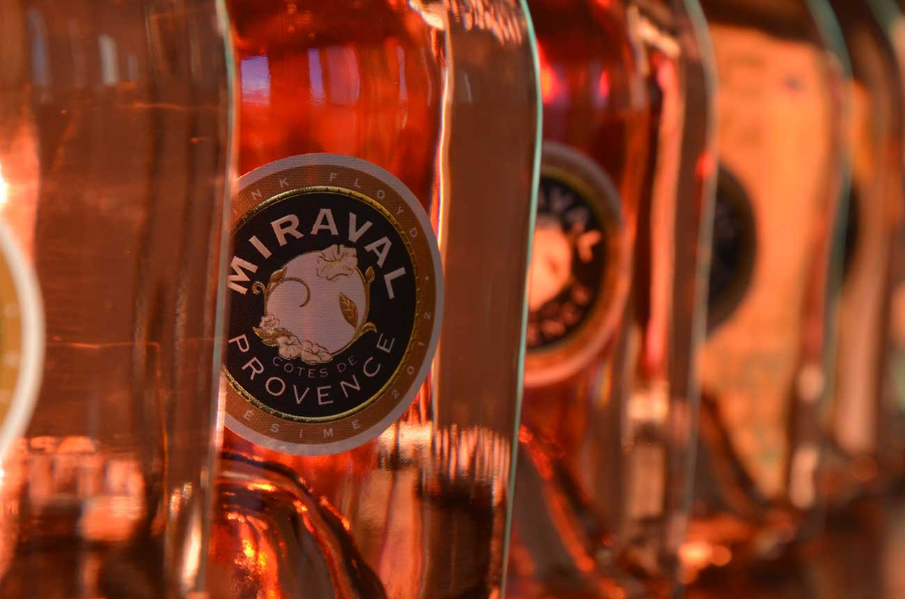 Pitt and Jolie-owned Miraval to make rosé Champagne