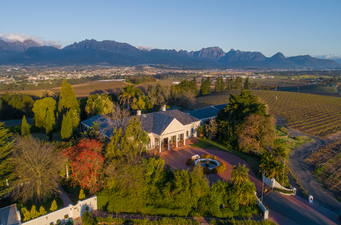 Property in Paarl: Four breathtaking vineyards for sale