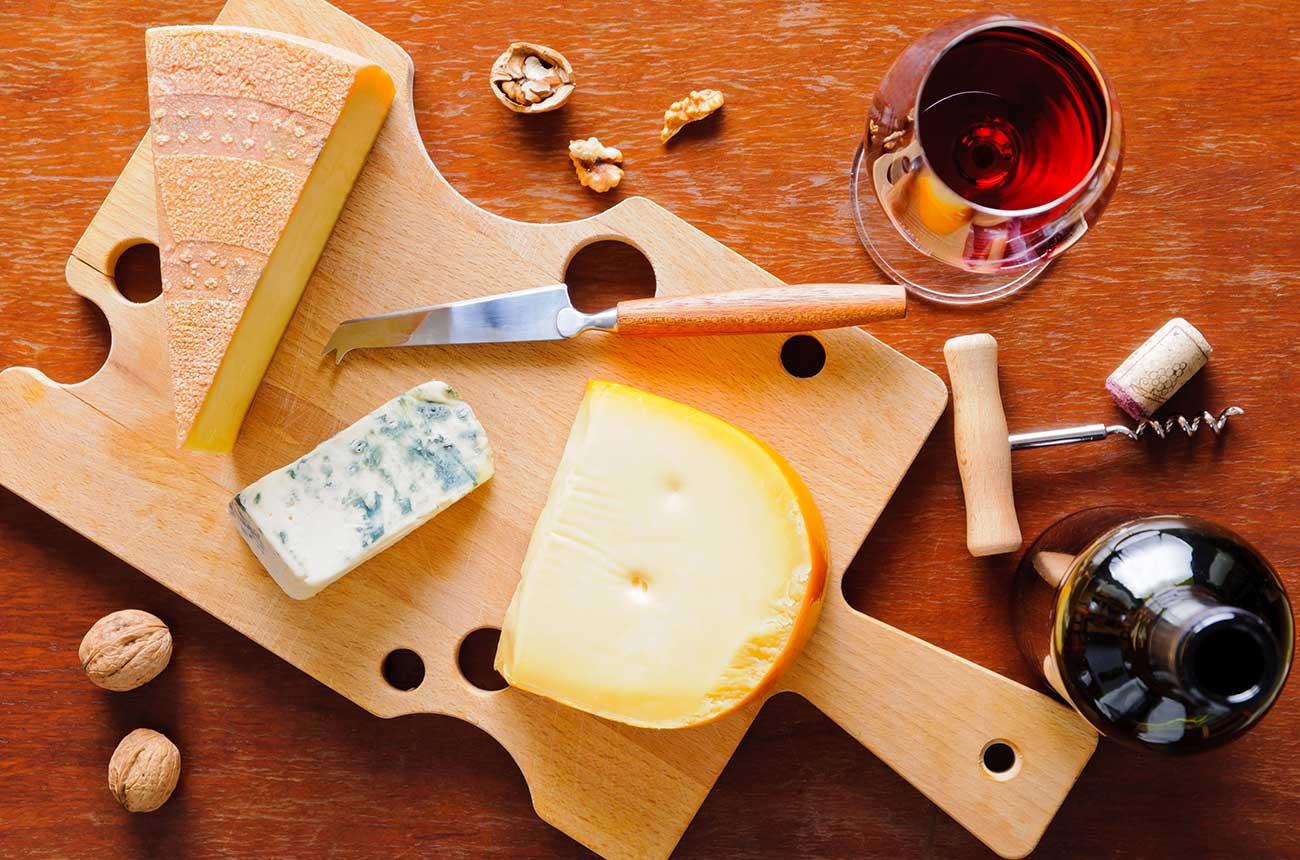 Wine and cheese may help protect your brain, says study