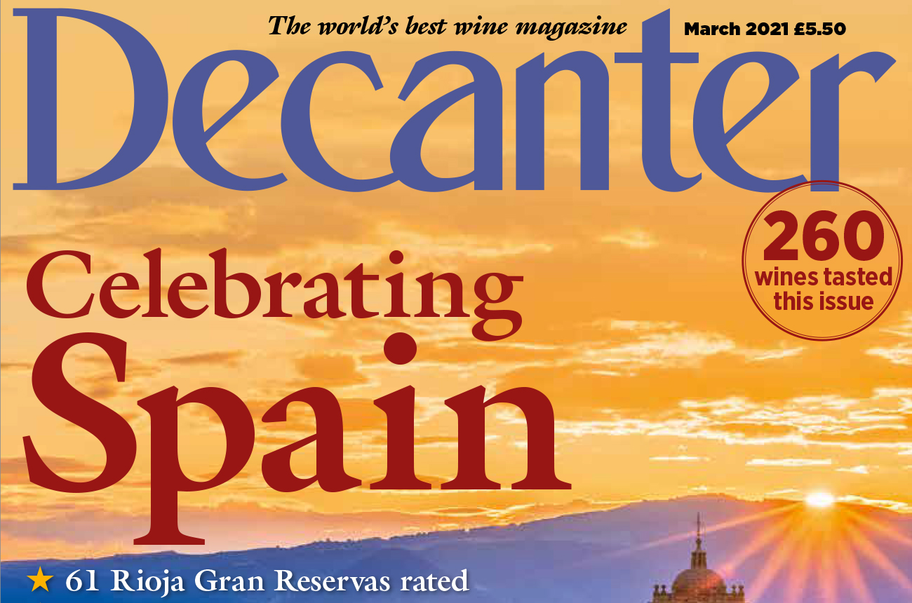 Decanter magazine latest issue: March 2021