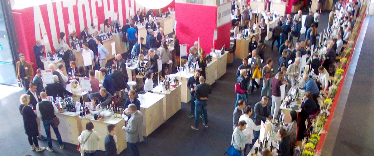 WineScout ad Autochtona 2017 alla Fiera di Bolzano