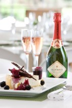 JC le Roux - Cheesecake with Pinot Noir Rose LR