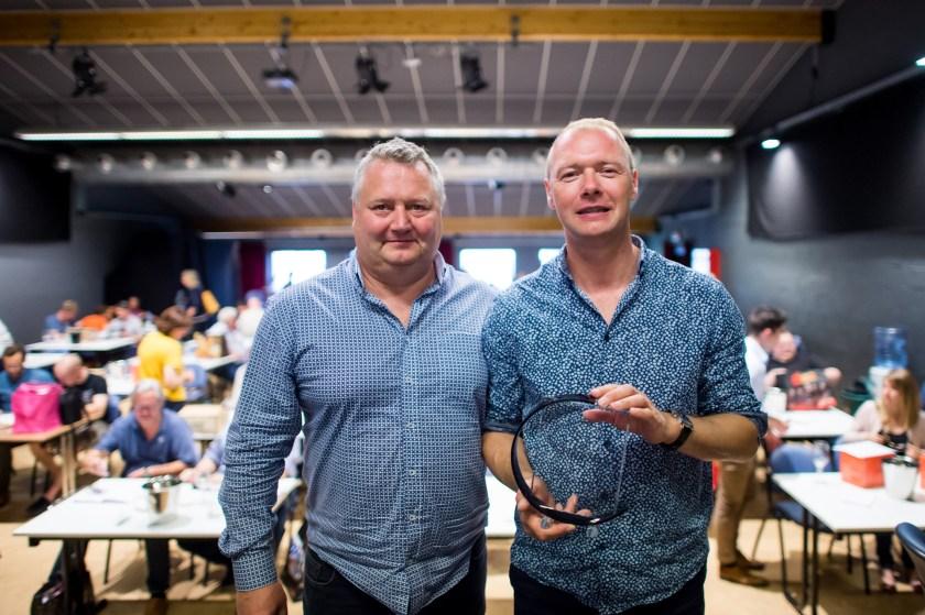 Les gagnants de la coupe de Belgique 2018 : Dewingaerden brothers