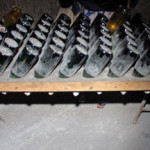 Old riddling rack at Veuve Clicquot