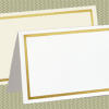bordered place cards