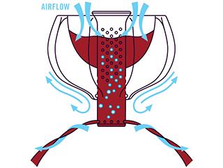 How WineWeaver Wine Aerator Works