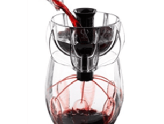 how to aerate wine