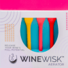 winewisk wine aerators and wine glass charms in mult-color