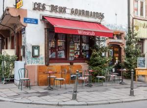 Street Corner in Strasbourg