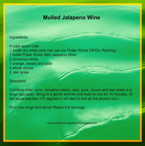 Visit jalapenowine.com for ordering info and more recipes.