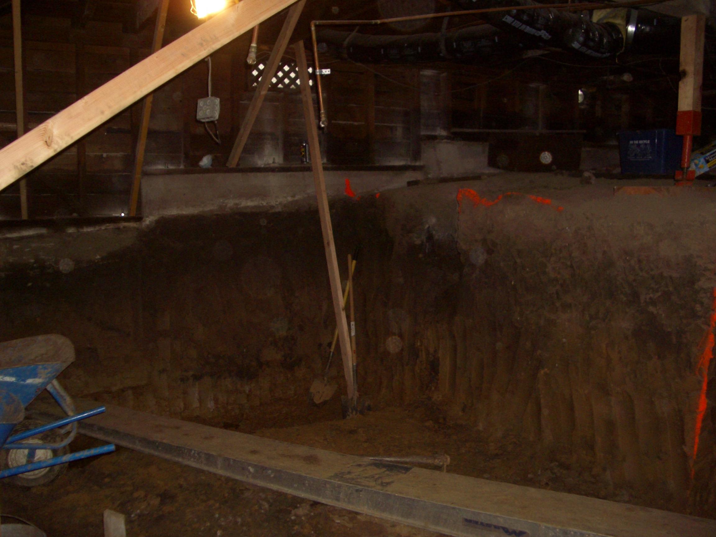 excavation efforts