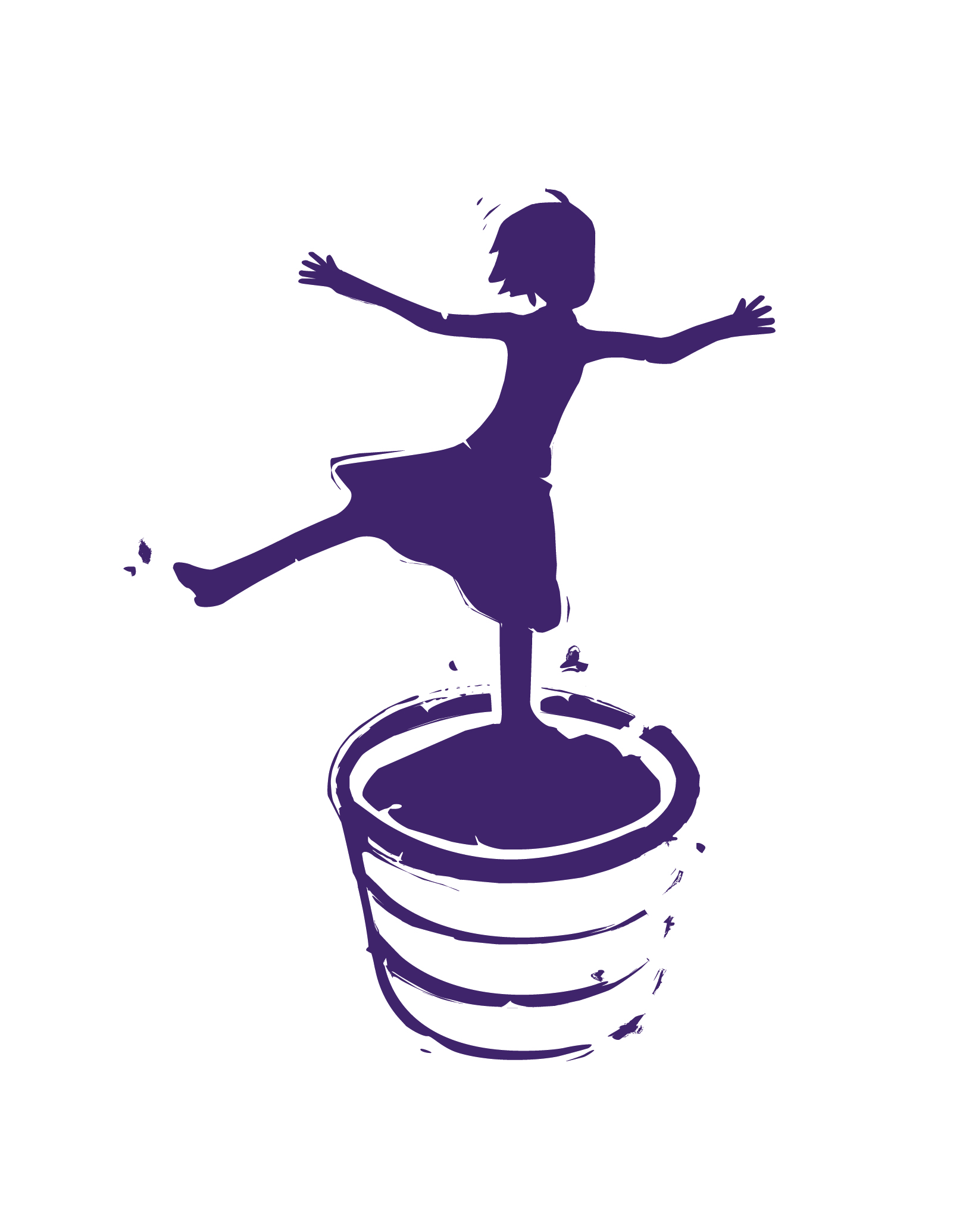 stomping girl logo winner