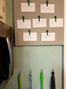 Meal Planning 101: DIY Recipe Board