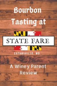 Bourbon Tasting at State Fare
