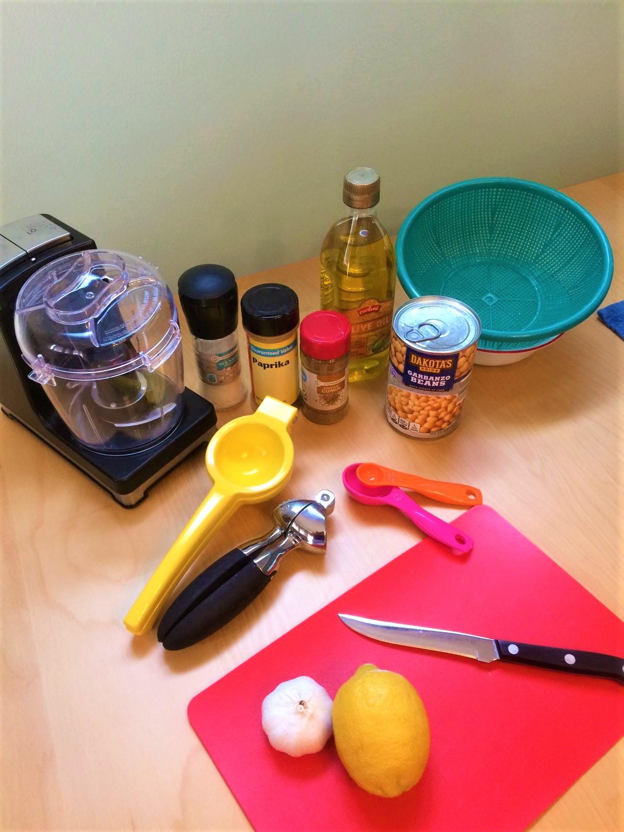 Cooking with Kids: Making Hummus