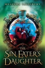 The Sin Eater's Daughter by Melinda Salisbury -- For four years sixteen-year-old Twylla has lived in the castle of Lormere, the goddess-embodied, whose touch can poison and kill, and hence the Queen's executioner--but when Prince Merek, her betrothed, who is immune to her touch returns to the kingdom she finds herself caught up in palace intrigues, unsure if she can trust him or the bodyguard who claims to love her.