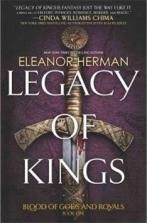 Legacy Of Kings -- Katerina, on a mission to kill the queen, falls in love with Alexander, Prince of Macedonia. Jacob will go to unthinkable lengths to win Katerina, even if it means having to compete with Hephaestion, a murderer sheltered by the prince. And far across the sea, Zofia, a Persian princess and Alexander's unmet betrothed, wants to alter her destiny by seeking the famed and deadly Spirit Eaters.