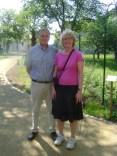 Mayor Alain Cintrat, et moi :-)