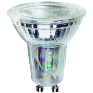 MEGAMAN LED SPOT 5(50) WATT/GU10NIET DIMBAAR 2800K 35° 500 Lm