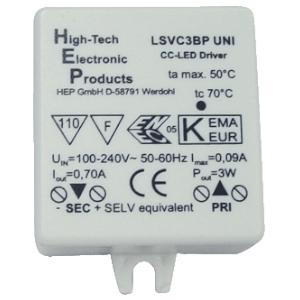 Klemko SD 7 led driver dynamisch LED DRIVER POWER-LED 700mAKLEMKO LB 1-3WATT