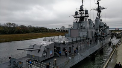 USS Laffey Destroyer, Charleston, South Carolina