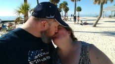 Final Kiss of 2017 at Pine Island Beach New Year's Eve 2017