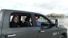 Luanne and Barb enjoying the Daytona Beach view