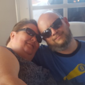 Barb and Jason enjoying the cruise with Deina on the Halifax River at Daytona, Florida