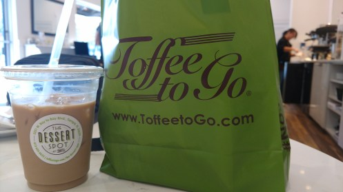 The Dessert Spot in Tampa is near the airport, featuring amazing Toffee based goodies
