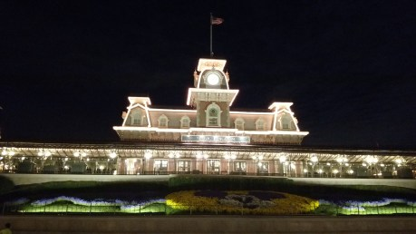 Magic Kingdom Main Street USA Railroad Depot