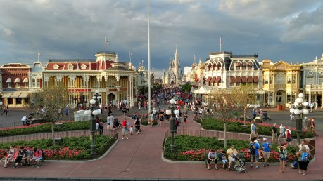 Last visit to Main Street USA, Magic Kingdom, Walt Disney World